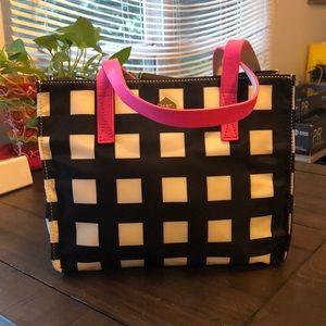 Kate Spade Nylon Checkered Tote Bag